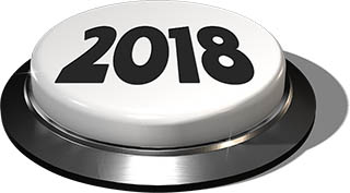 Big Juicy Button: 2018 White