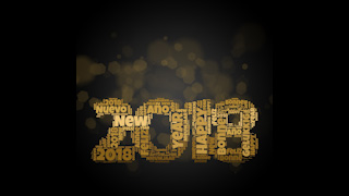2018 New Year Themed Background 06