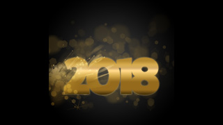 2018 New Year Themed Background 24