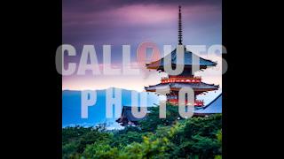 Red Japanese Temple Kiyomizu-dera