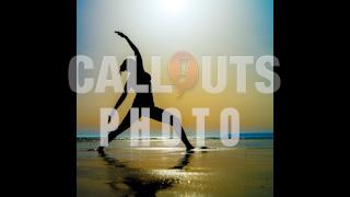 Beach Yoga Silhouette Woman Photo
