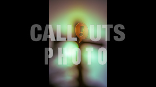 Abstract Diffuse Backlit Cross