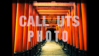 Orange Pillars, Fushimi Inari-taisha Shrine Kyoto Japan