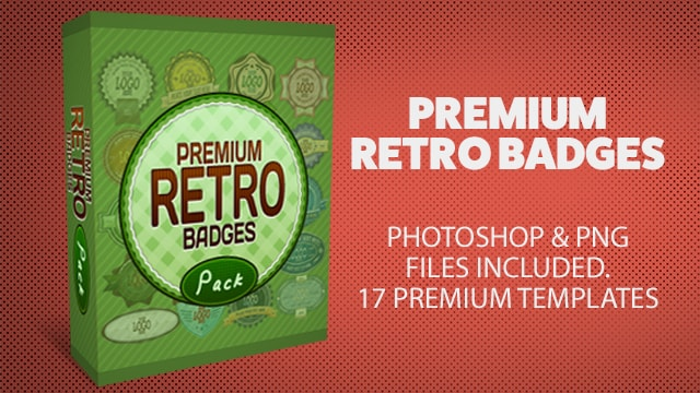 Premium Retro Badges Collection