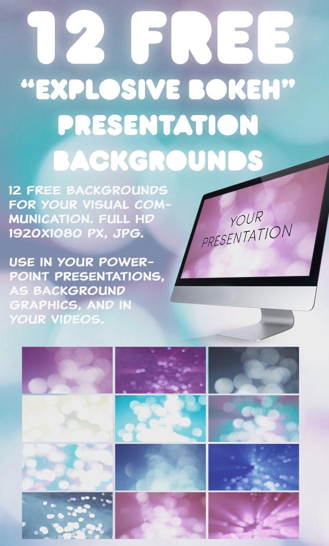 12 Explosive Presentation Backgrounds