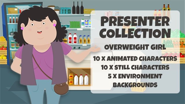 Presenter Collection: Overweight Girl
