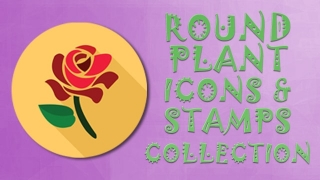 Plants Icon Collection Round