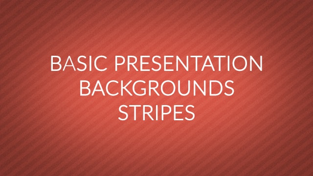 Basic Presentation Backgrounds – Diagonal Stripes