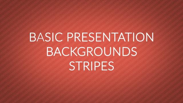 Basic Presentation Backgrounds – Diagonal Stripes