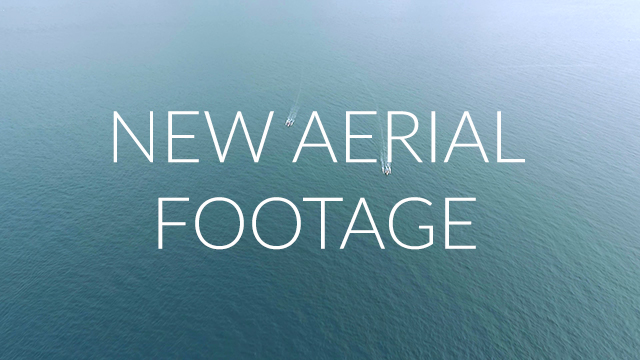 new aerial video footage