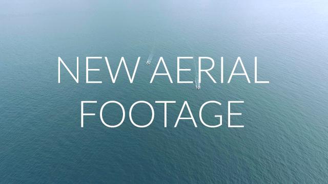new aerial video footage
