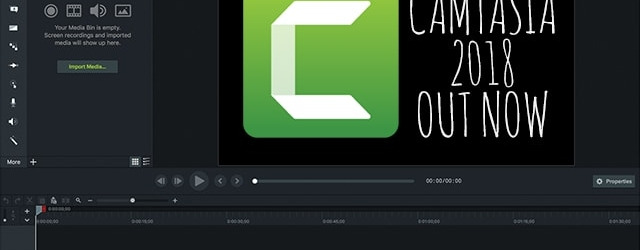 Camtasia2 018 Out Now
