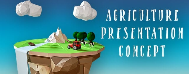 New Agriculture/Farming Concept Backgrounds and 3D Guys Presentation Assets