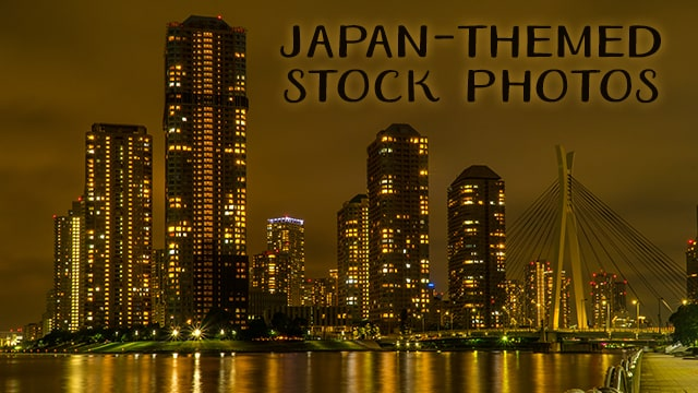 Japan themed stock photos