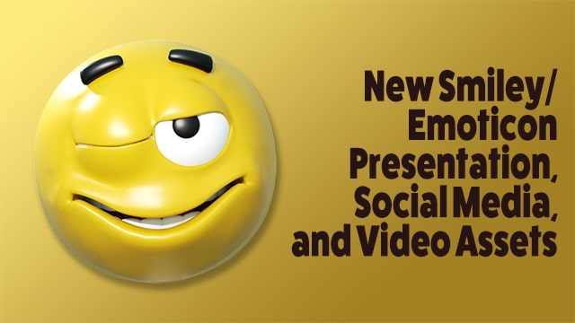 New Emoticon/Smiley Video and Graphics Assets
