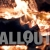 Fireplace Closeup Slowmotion Slow Pan Left Stock Footage