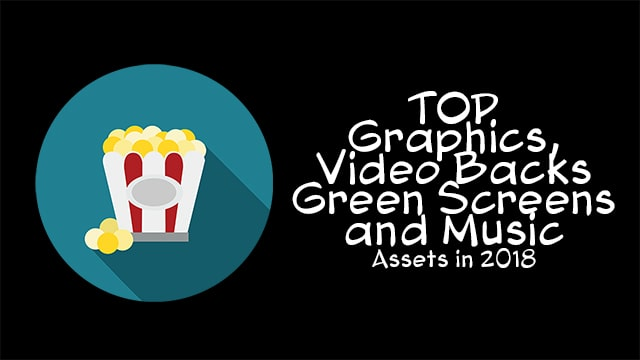 Most Popular Graphics, Video Backgrounds, Music and Green screen videos