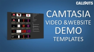 Camtasia Video and Website Demo Templates