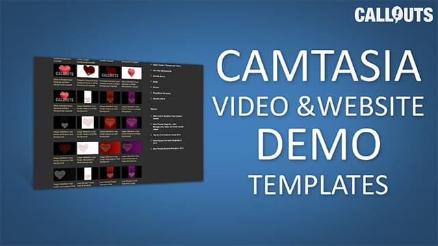 Camtasia Video and Website Demo Templates