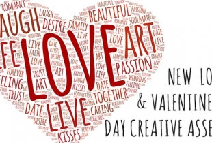 New Love & Valentine's Day Creative Assets