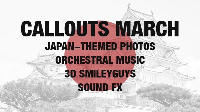 Callouts March New Presentation Assets