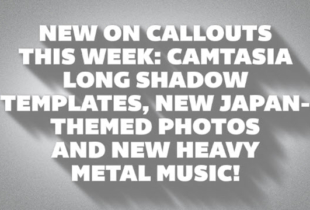 New Camtasia Long Shadows, Heavy Metal Music, Additional Japan-Themed Stock Photos