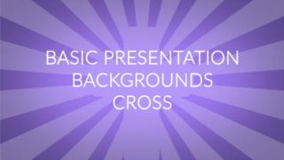 Basic Presentation Backgrounds – Cross