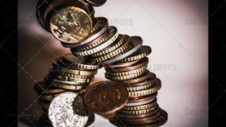 Coins Come Crashing Down