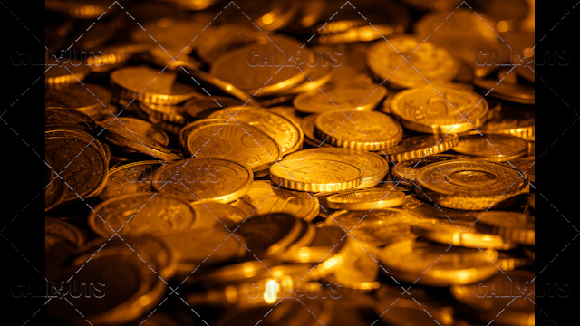 Lots of Golden Coins