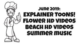 New June Assets! Huge Toon Presenter Graphics Pack, Summer Music, and New Stock Videos