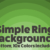 Basic Presentation Backgrounds: Simple Sunset Rings