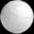Stylized White Planet Earth Globe Showing Americas