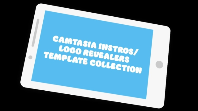 Camtasia Intros and Logo Revealers