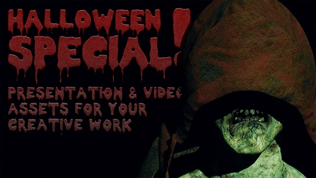 Halloween Special – Creative Presentation and Video Assets!
