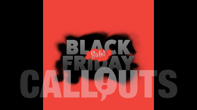Black Friday Sales/Advertising Graphics: Spray Paint 01