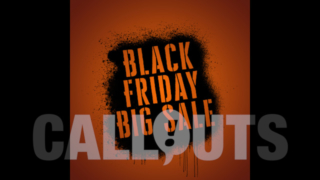 Black Friday Sales/Advertising Graphics: Spray Paint 02