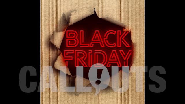 Black Friday Sales/Advertising Graphics: Carton Rip