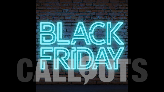 Black Friday Sales/Advertising Graphics: Neon Wall