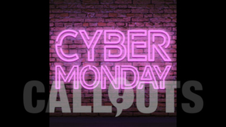 Cyber Monday Sales/Advertising Graphics: Neon Wall