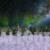 Winter Wonderland Aurora Zoom In with Snow Animation