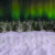 Winter Wonderland Aurora Pan Left with Snow Animation