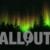 Winter Wonderland Aurora Tree Silhouttes on Starry Sky Animation