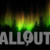 Winter Wonderland Aurora Tree Silhouttes Dark Sky Animation