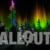 Winter Wonderland Aurora Tree Silhouttes with Colored Lights 01 Animation
