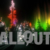 Winter Wonderland Aurora Tree Silhouttes with Colored Lights 02 Animation
