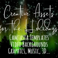Holiday Assets for Creative Projects