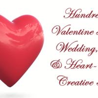 Valentine's Day, Wedding, Love & Heart-Themed Creative Assets
