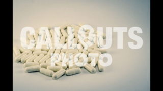 Pile of White Medicine or Supplements 03, White Background, Text Space