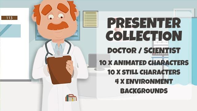 Presenter Collection: Doctor/Professor/Scientist