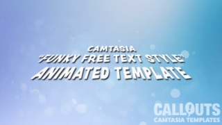 Camtasia Funky Free Text Style